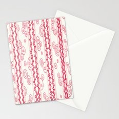 red candy Stationery Cards