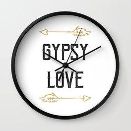 Gypsy Love Wall Clock