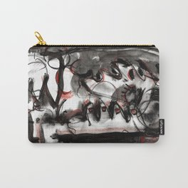 Shame - b&w Carry-All Pouch