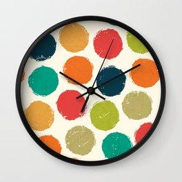 RETRO DOTS Wall Clock