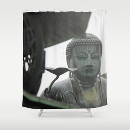 The Great Buddha Shower Curtain