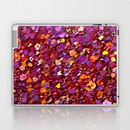 Straw Flowers in the Field Laptop & iPad Skin