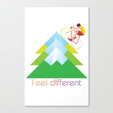 FEEL DIFFERENT Canvas Print