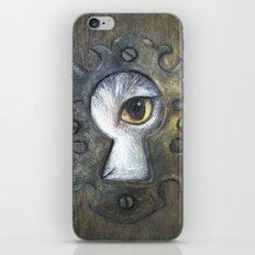 Keyhole iPhone & iPod Skin