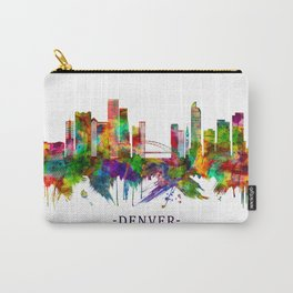 Denver Colorado Skyline Carry-All Pouch