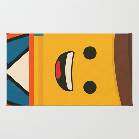 Lego Emmet Rug By Shujaat Syed Society6