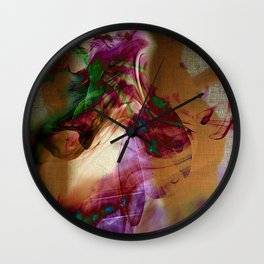 the charm of lust Wall Clock