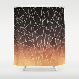 Shattered Ombre Shower Curtain