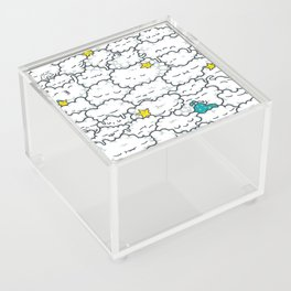 A Cloudy Night Acrylic Box