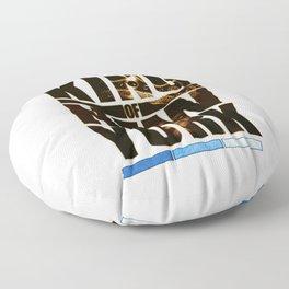 King Of New York - Frank White - Biggie - The Notorious B.I.G. - Big Poppa Society6 Vibes Floor Pillow