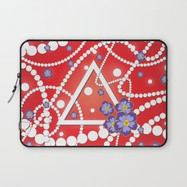 Petals and Pearls Laptop Sleeve