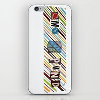 amy pond iPhone & iPod Skins featuring Amy Pond by colleencunha