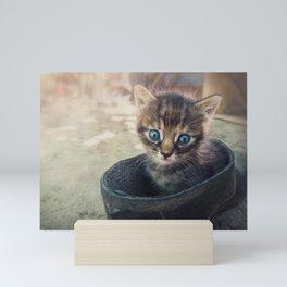 well hidden Mini Art Print