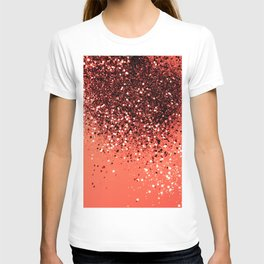 Cali Summer Vibes Lady Glitter #8 #shiny #decor #art #society6 T-shirt