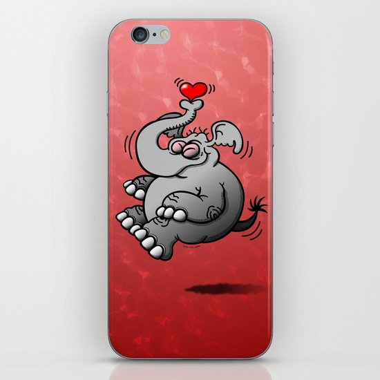 Fly me to the Moon Elephant iPhone Skin