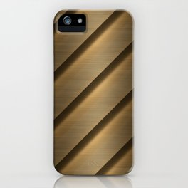 Copper Brass Metal Pipe iPhone Case