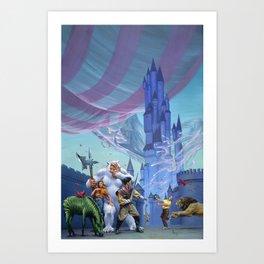 Castle Spellbound Art Print