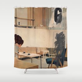 Quick (BDR) Shower Curtain