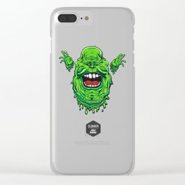Slimer The Slippery Clear iPhone Case