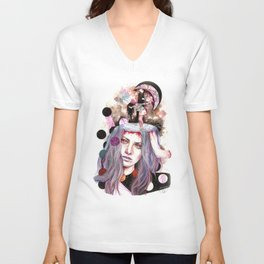 And Bring the Crazy Unisex V-Neck