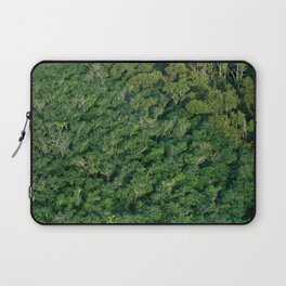 Arial tropical forest Laptop Sleeve