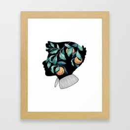 Orange Essence Framed Art Print