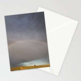 Rainbow after the Storm - Badlands National Park Stationery Cards