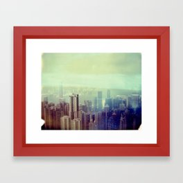Hong Kong Framed Art Print