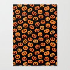 Jack-o'-Lanterns Canvas Print
