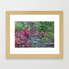 Azalea Forest Framed Art Print
