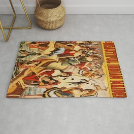 Vintage Poster - The Beautiful Indian Maidens Rug