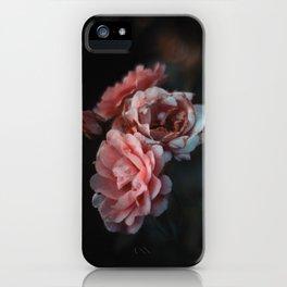 Moody Roses I iPhone Case