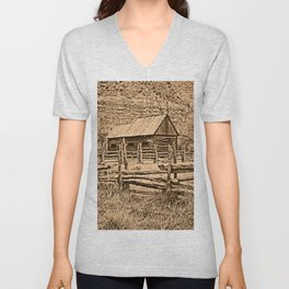 Old Ranch Unisex V-Neck
