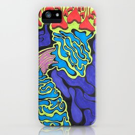 Psychedelic Glob iPhone Case