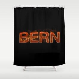 BERN (Flames) Shower Curtain