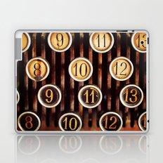 Vintage Numbers Laptop & iPad Skin