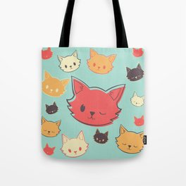 Kitty Wink Tote Bag