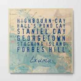Exuma Exuma Metal Print