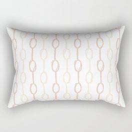 Girly Dot Stripe 2 Rectangular Pillow
