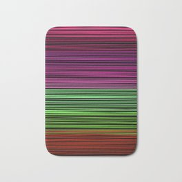 Rainbow thread  3 Bath Mat