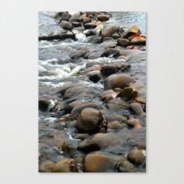 Water Through Stone Canvas Print