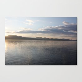 Mallory Island Sunset Canvas Print