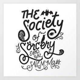 The Society of Sorcery Art Print