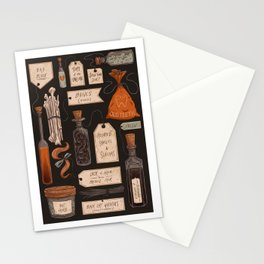Spooky Apothecary Stationery Cards