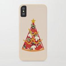 PIZZA ON EARTH - VEGO/VEGAN VERSION iPhone X Slim Case