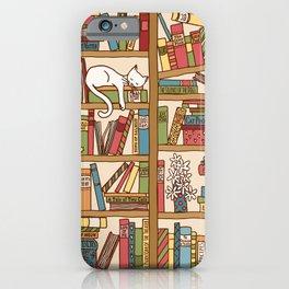 Bookshelf No. 1 iPhone Case