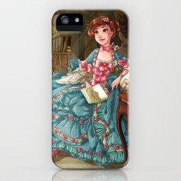Tseumpfeuh de Pompadour iPhone Case
