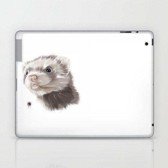 Ferret Laptop & iPad Skin