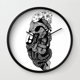 The Creative Side - Brain Wall Clock