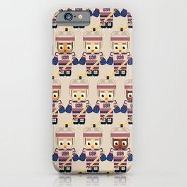 Super cute sports stars - Ice Hockey USA iPhone Case